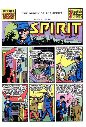 Cover for Spirit Newspaper Strip #1