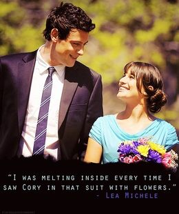 -I-was-melting-inside-every-time-I-saw-Cory-in-that-suit-with-flowers-finn-and-rachel-22059677-500-596