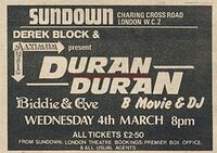 Sundown london duran duran