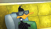 Daffy's 3D Glasses Shattered
