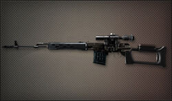 Weapon Sniper Dragunov SVD