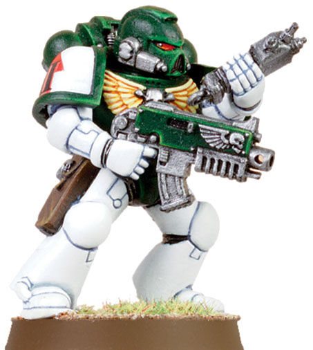 This color scheme match any Space Marine Chapters? - Forum ...