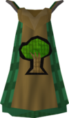 Woodcutting cape detail