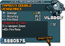 V3 Double Vengeance