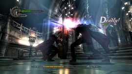 Dante and Nero clash M01