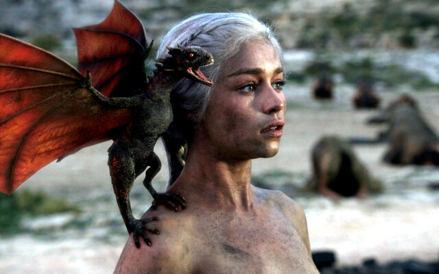 File:Daenerys and dragon.jpg