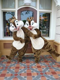Chip &#39;n&#39; Dale HKDL