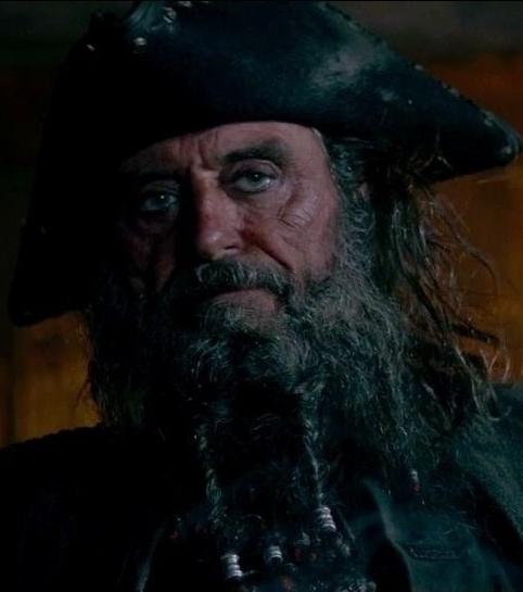 Blackbeard onstrangertides