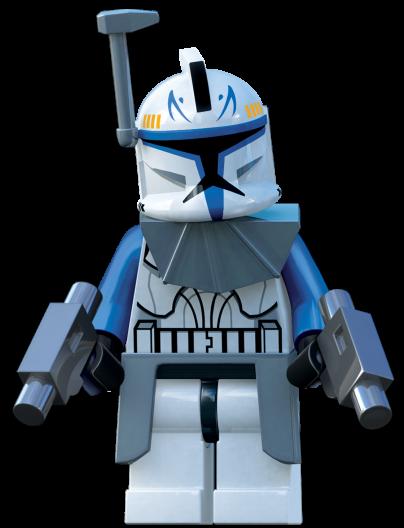 Rex in LEGO Star Wars III: The Clone Wars .