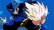 Vegeta vs. Cell Jr