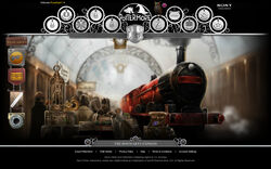 Pottermore screenshot