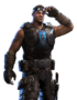 Gears of War 3 Personajes COG Baird