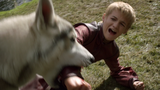 Nymeria bites Joffrey