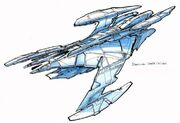 Jem'Hadar battle cruiser design