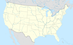 Usa edcp location map