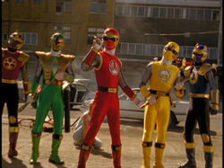 Evil Ninja Storm Rangers