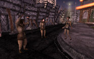 FNV female troopers dancing