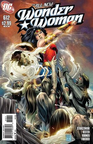 Cover for Wonder Woman #612
