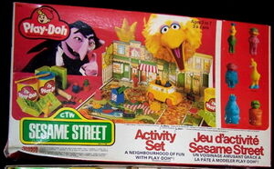Play-doh activity set 1980