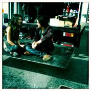 Victoria and Avan at a break