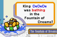 KNiD Dedede fountain