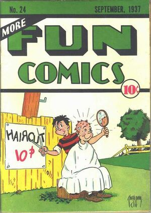 Cover for More Fun Comics #24
