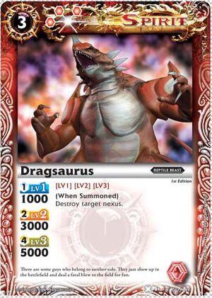 BS01 -battle spirits set 1 -spirits. 300px-Dragsaurus2