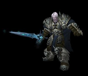 Arthas (untot) ohne Helm