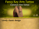 FancyKeyTattoo