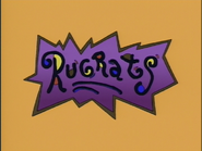 The Rugrats logo used from 2000-2004