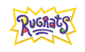 The 3rd Rugrats logo (2001-2006)