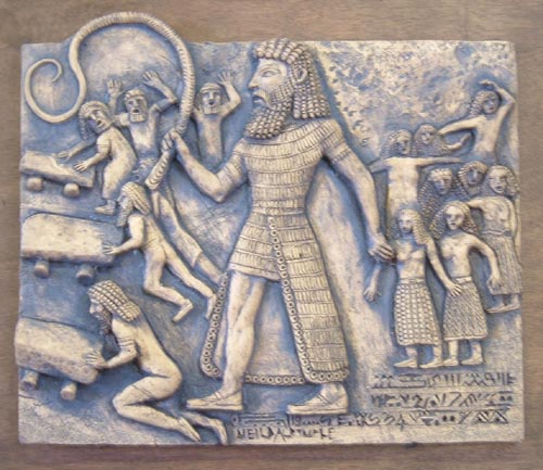 The legendary deeds of the character gilgamesh in the epic of gilgamesh
