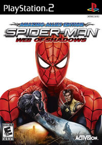 Spider Man Web of Shadows PS2