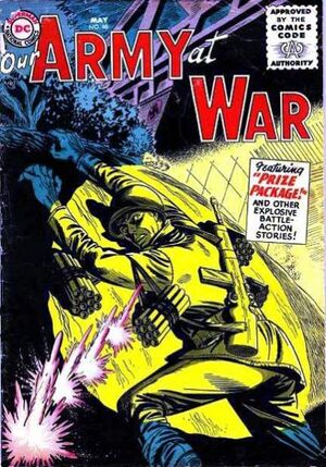 Cover for Our Army at War #46