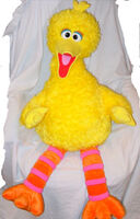 2004 Big Bird Sesame Plush Plush