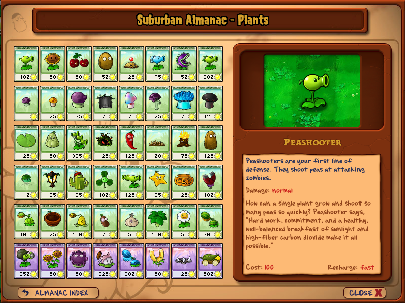Plants Zombies Coloring Pages on All The Seed Packets  The Imitater Is Not Shown  The Purple Ones In