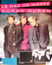 French duran duran advert