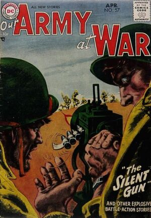 Cover for Our Army at War #57