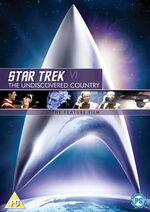 Star Trek VI The Undiscovered Country DVD cover Region 2