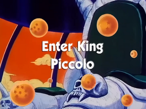 EnterKingPiccolo