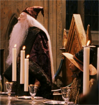 Sinistra and Dumbledore