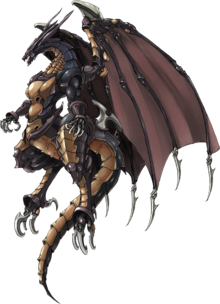 FFVIICC summon Bahamut