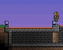 Terraria Lava trap Screenshot
