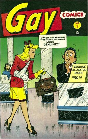 Gay Comics Vol 1 #1