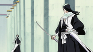 Byakuya &amp; Reigai Byakuya Prepare to Battle