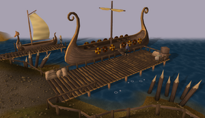 Rellekka docks