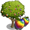 Rainbow Apple Tree-icon