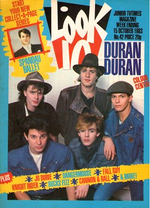 Look-in magazine no.42 - 15 october 1983 duran duran