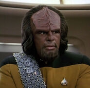 Worf hologram