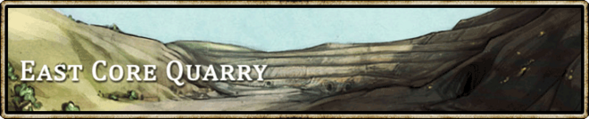 Location banner East Core Quarry